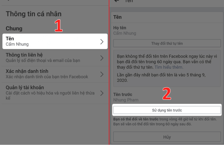 đổi tên facebook chuae đủ 60 ngày png