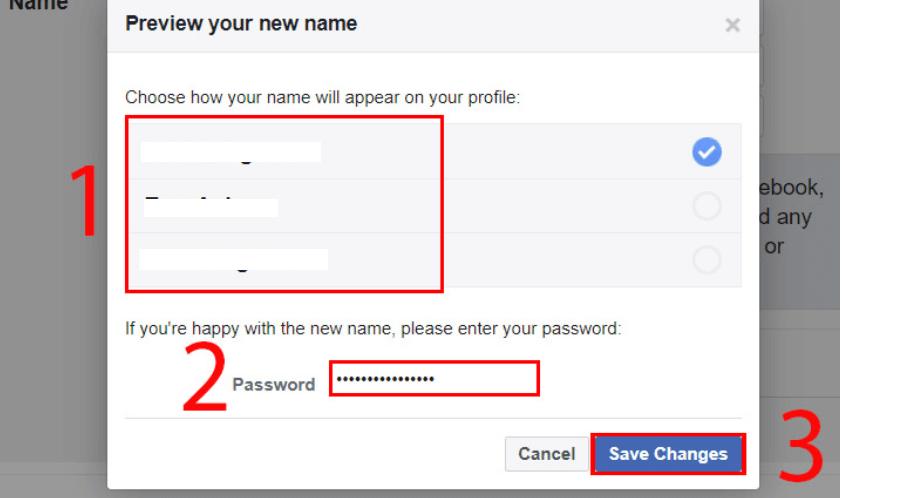 đổi tên trên máy tính