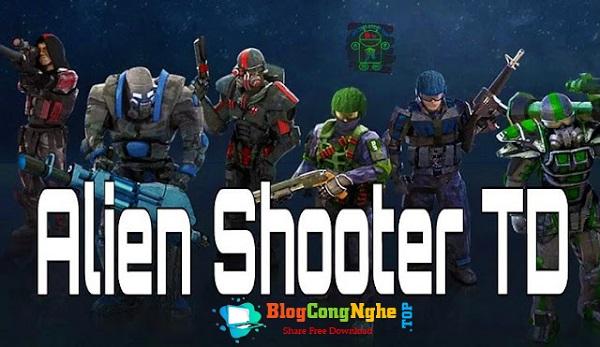 Download Game Alien Shooter TD bản cập nhật mới nhất 2021